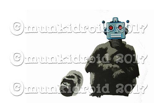 Robo Disguise Screen Print