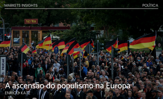 A ascensão do populismo na Europa