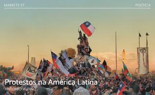 Protestos na América Latina