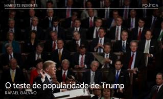 O teste de popularidade de Trump