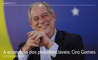 A economia dos presidenciáveis: Ciro Gomes
