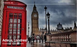 Adeus, Londres!