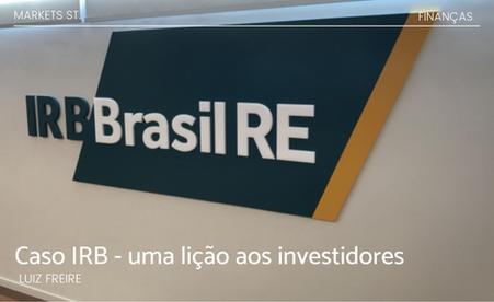 Caso IRB - uma lição aos investidores