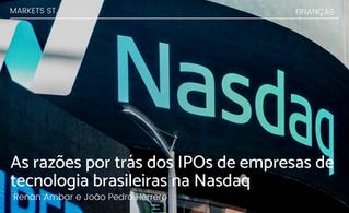 As razões por trás dos IPOs de empresas de tecnologia brasileiras na Nasdaq