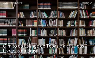 O mito da Esfinge de Tebas e a crise das Livrarias no Brasil