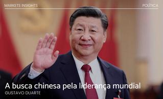 A busca chinesa pela liderança mundial