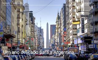 Um ano delicado para a Argentina