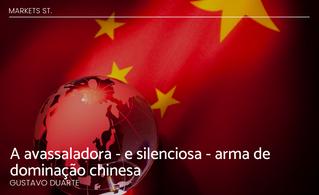 A avassaladora - e silenciosa - arma de dominação chinesa