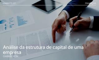 Análise da estrutura de capital de uma empresa