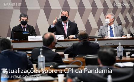 Atualizações sobre a CPI da Pandemia
