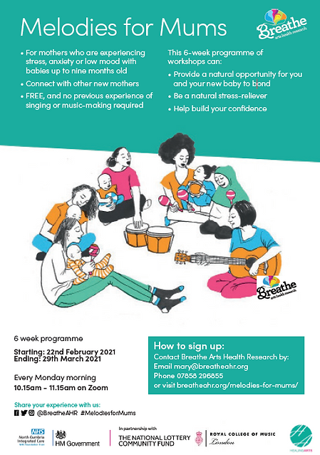 Melodies for Mums - West North East Cumb