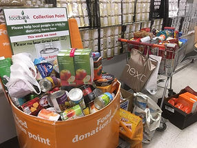 North Lakes Foodbank Collection Point