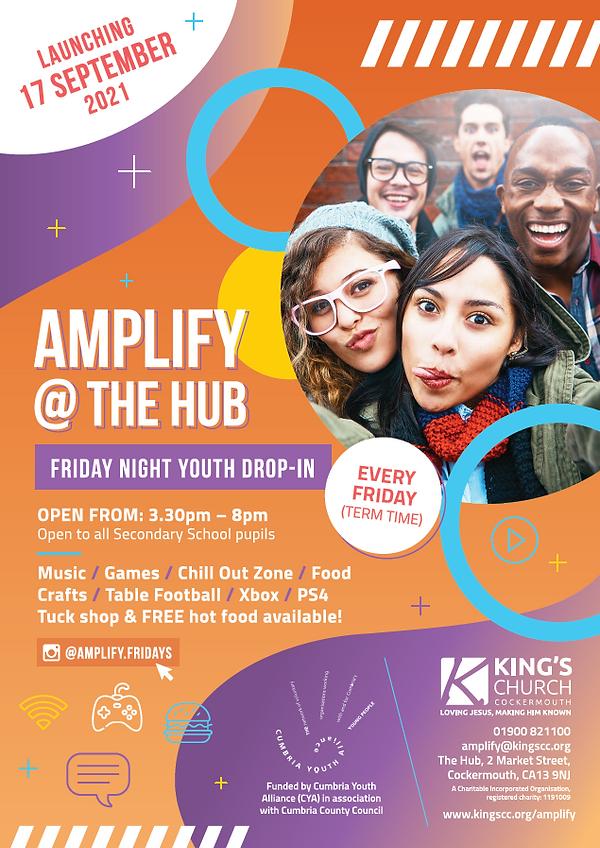 Amplify Poster Summer 2021 - Kings Church Cockermouth