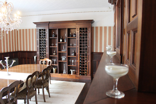 traditional wine cabinet