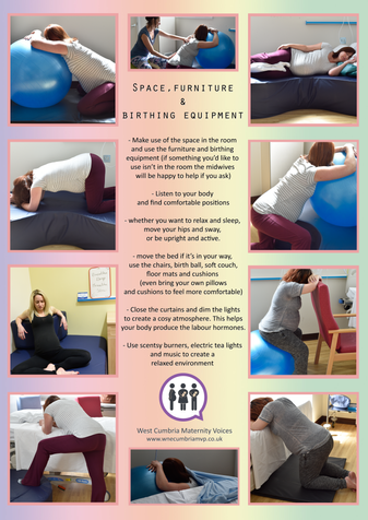 Active Births - poster 3 - Space