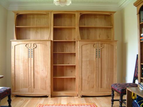 macintosh inspired bookcase