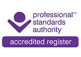 Proffessional Standards Authority accred