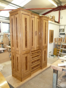 bow fronted wardrobe