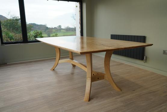 contemporary hayrake table