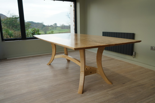contemporary hayrake table