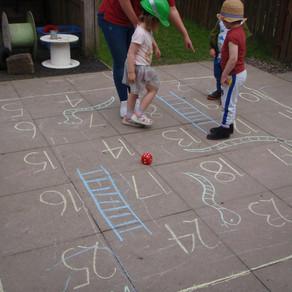 Mary Platt Preschool - Outdoor Snakes and Ladders