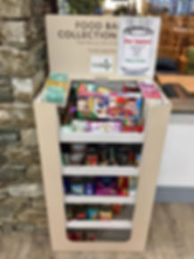 North Lakes Foodbank Collection Point In