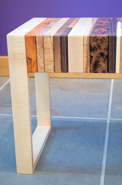 the patchwork coffee table