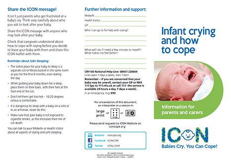 Infant Crying How to Cope Page 1 - ICON