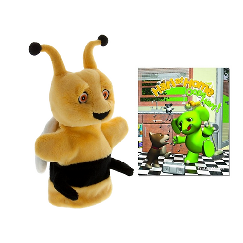 Hari at Home book with Sting Hand Puppet