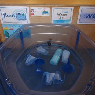 Mary Platt Preschool - Water play