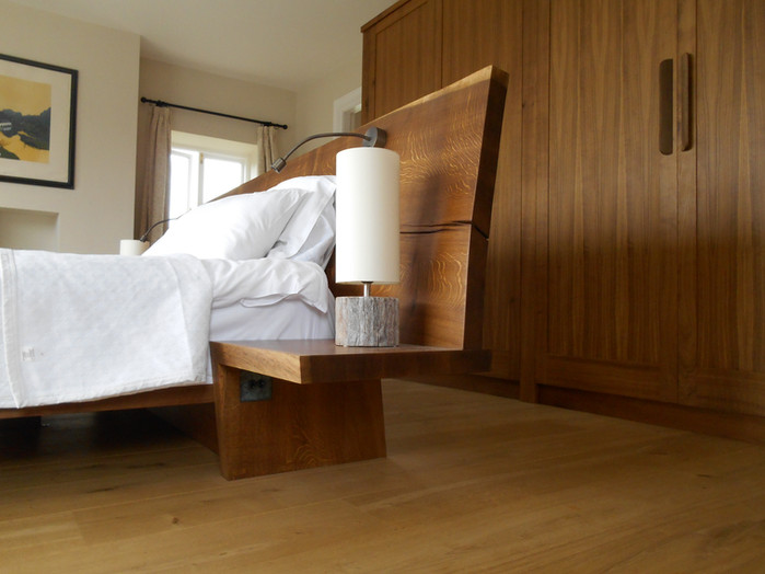 fumed oak bedroom suite