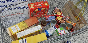 North Lakes Foodbank Trolley