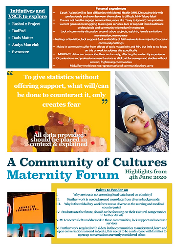 Newsletter 1 - Maternity Voices Partners