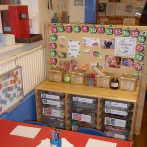 Mary Platt Preschool - Craft time