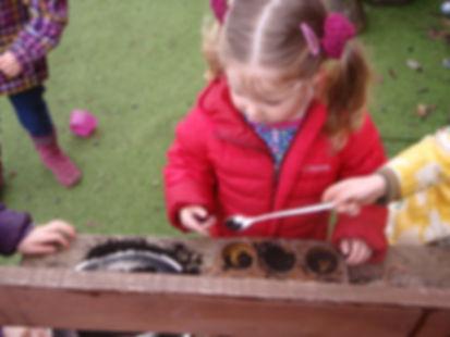 Mary Platt Preschool - Mud kitchen