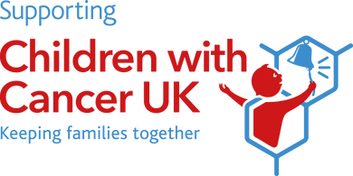 Children with Cancer UK logo - Haris Wor