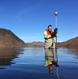 Atlantic Geomatics at Crummock Water