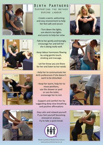 Active Births - poster 2 - Birth Partner