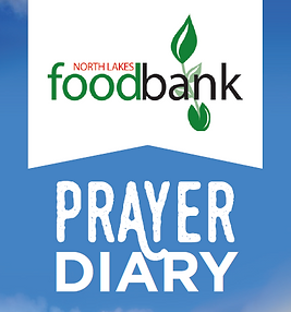 North Lakes Foodbank Prayer Diary.PNG