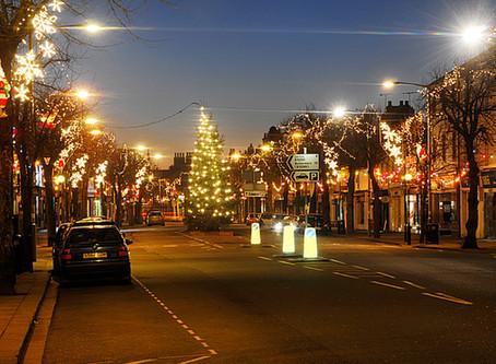 Town Christmas Lights