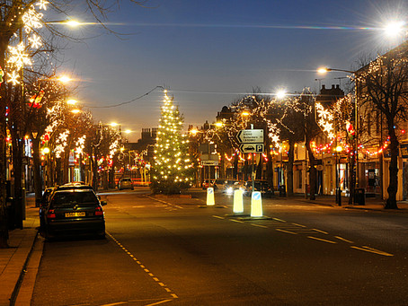 Town Christmas Lights