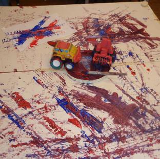 Mary Platt Preschool - Truck Art