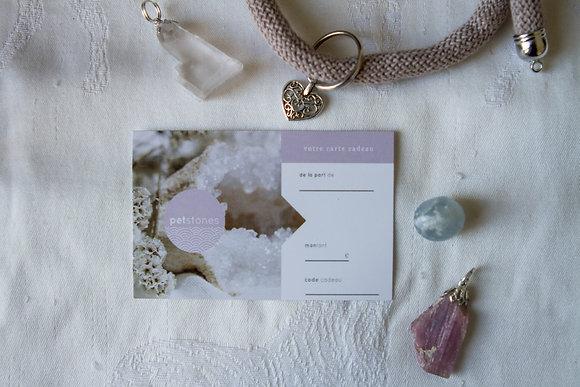 Carte Cadeau | Physique
