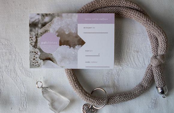 Carte Cadeau | Virtuelle