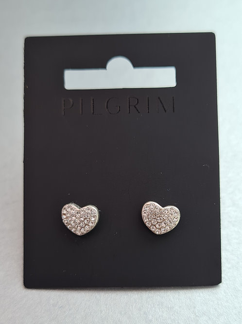 Pilgrim Mathilda earrings available in silver or rose gold plating