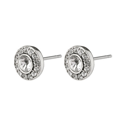 Pilgrim Clementine earrings  available in silver or rose gold plating.