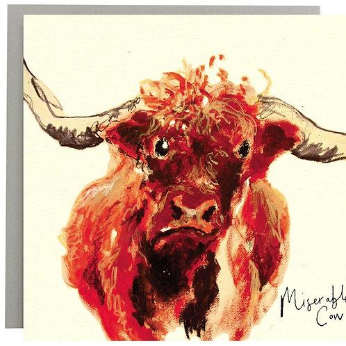 Miserable Cow Card