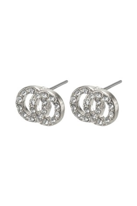 Pilgrim Victoria earrings  available in silver or rose gold plating.