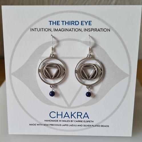 Carrie Elspeth Chakra earrings