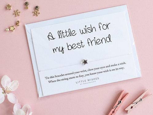 Best Friend String Bracelet with Star